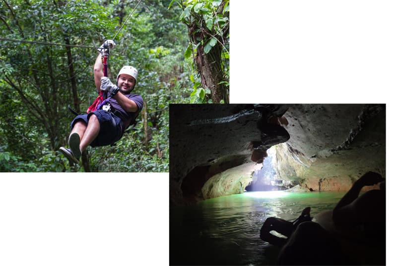 The Zip Lining & Cave Tubing Adventures